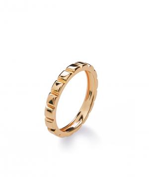 "Ring ""Lazoor"" golden №13"