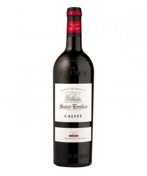 Գինի «Calvet Saint Emilion» կարմիր, անապակ 750մլ