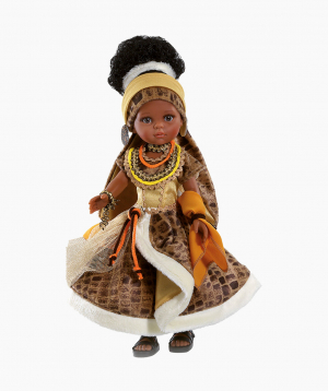 Paola Reina Տիկնիկ Աֆրիկուհի Նորա, 32 սմ