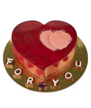 Շոկոլադ «Lara Chocolate» սիրտ
