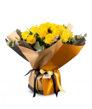 Ծաղկեփունջ «Տրենտո» վարդերով