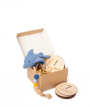 """Gift box """"Crafts by Ro"""" №6"""
