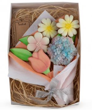 """Cookies """"Tartist"""" flowers"""