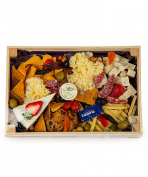 """Collection """"Say Cheese"""" cheese in a box"""
