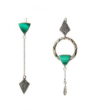 """Earrings """"Har Jewelry"""" silver №11"""