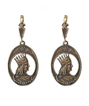 """Earrings """"Har Jewelry"""" silver №10"""