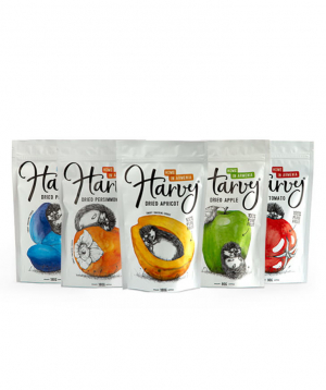 """Dried fruits """"Harvy"""" 5 packages"""