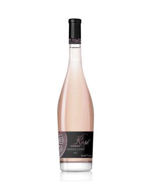 """Wine """"Collines de la Moure"""" dry rosé 750 ml"""