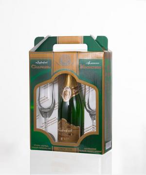 """Champagne """"Armenian"""" souvenir semi-dry 750 ml"""