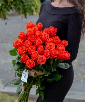 Rose `Oww` coral 29 pcs