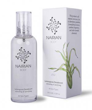 Deodorant `Nairian` lemongrass