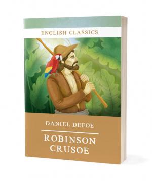 "Book ""Robinson Crusoe"""