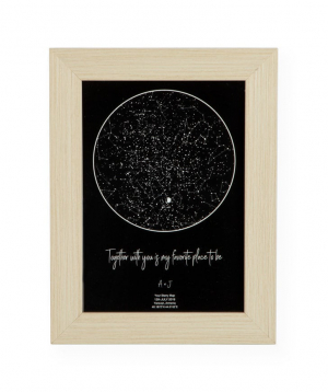 Individual starry map A5_01