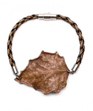 Թևնոց «CopperRight» բարդու իսկական տերևից պատրաստված