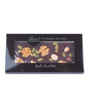 "Chocolate ""Lara Chocolate"" with legumes"