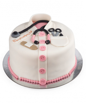 """Cake """"To my doctor"""""""