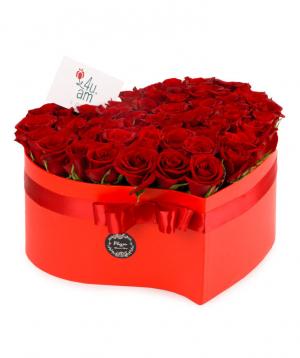 Կոմպոզիցիա «Մոնակո» վարդերով