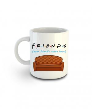 """Բաժակ """"3 dzook"""" «Ընկերներ»  կերամիկական 250մլ"""