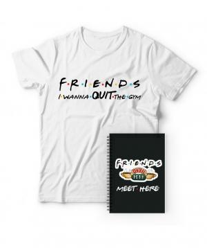 """Շապիկ և նոթատետր """"3 dzook"""" «Ընկերներ»"""