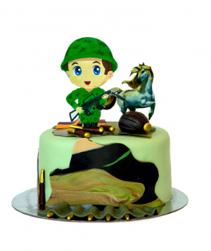 Cake Soldier