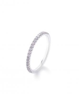 "Ring ""Lazoor"" golden, with diamond stones №9"