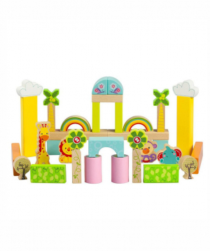 """Constructor """"Fisher Price"""" wooden"""