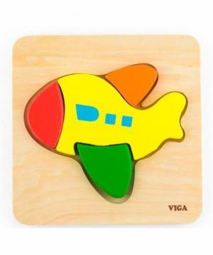 Puzzle wooden `Plane`