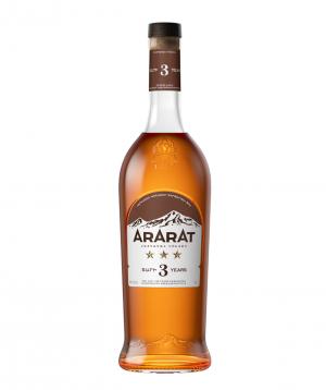 Brandy `ARARAT` 3 Stars 500 ml