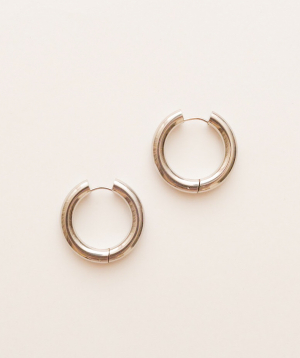 Earrings `Rougecoco` classic, big