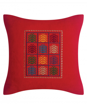 """Pillow """"Miskaryan heritage"""" embroidered with Armenian ornament №34"""