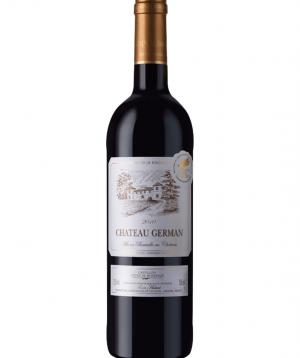 Wine «Chateau German» dry red 750 ml