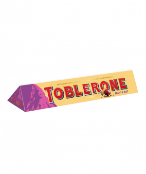 """Candy """"Toblerone"""" fruits and nuts 100g"""