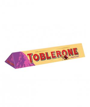 Կոնֆետ «Toblerone» միրգ և ընկույզ 100գ