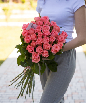 Roses «Anna Karina» pink 29 pcs