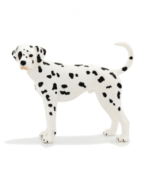 Toy `MOJO` Dog, dalmatian