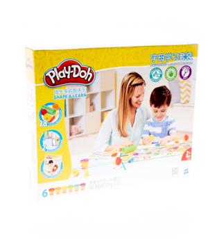 Հավաքածու «Play-Doh» պլաստիլինի Shape & Learn