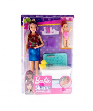 "Barbie ""Barbie"" Skipper Babysitters, Club Bath"