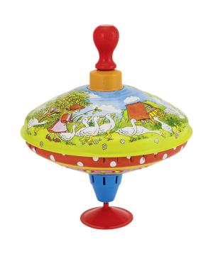 Toy `Goki Toys` humming top Mother goose