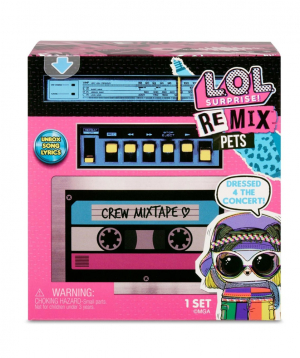 Հավաքածու «MGA» LOL Remix Pets