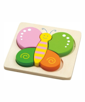 Puzzle wooden `Butterfly`