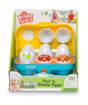 """Collection """"Bright Starts"""" of eggs, musical"""