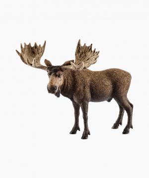 Schleich Animal Figurine «Moose bull»