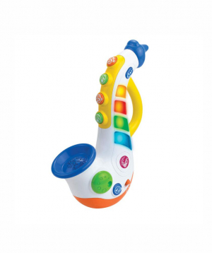 Toy `Little Learner` musical, saxophone