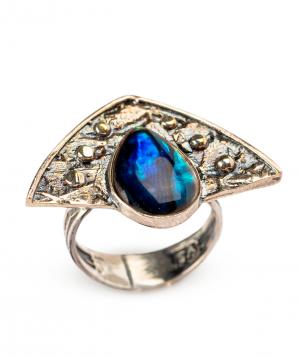 Մատանի «Har Jewelry» արծաթյա կաթիլ