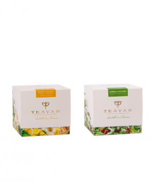 "Tea Collection ""TeaYan"" inspiration bouquet and vesperum bouquet"