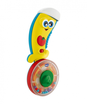 Toy `Chicco` pizza knife, musical