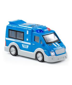 Խաղալիք «Polesie» մեքենա, ոստիկանական