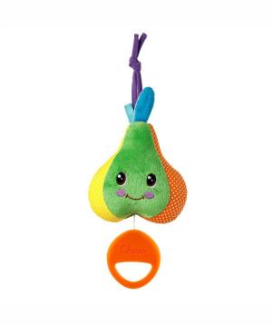 Toy `Chicco` crib, musica,l pear