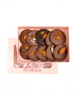 """Chocolate collection """"Lara Chocolate"""" with nuts"""