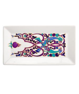 "Plate ""Taraz Art"" decorative, ceramic №17"